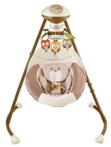 Fisher-Price My Little Snugabear Cradle 'N Swing by Fisher-Price