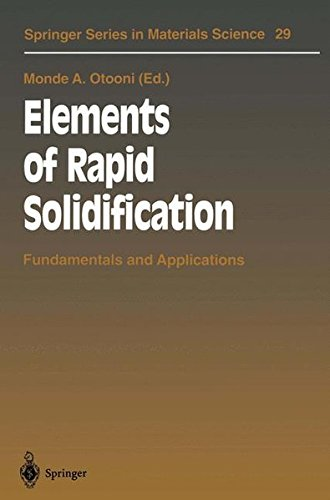 Elements of Rapid Solidification. : Fundamentals and Applications