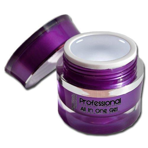 Professional Uv Gel (Professional UV Gel ALL IN ONE Clear 1-Phasen Profi Gel 15ml ohne wärmeentwicklung)