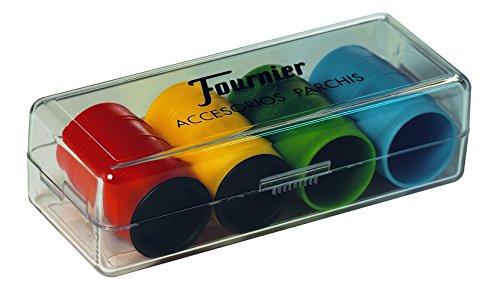 Fournier - Fichas Parchís para 4 jugadores (F06513)