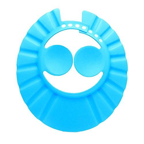 Verstellbarer Bademütze für Babys und Kinder,Baby-Dusch-Hut, Ohr-Schutz für Babys vor Shampoo, Kappe