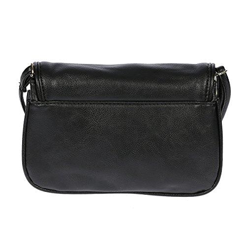 Christian Wippermann®, Borsa a spalla donna grigio Grau 20 x 13 x 8 cm Grau