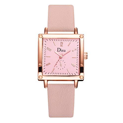 Resplend Mode Drucken Damen Armbanduhr, Einfach Gurt Platz Wählen Sie Frau Gedruckt Gurt Mit Nein Digital Quadrat Wählen Damen Quarz Uhren -