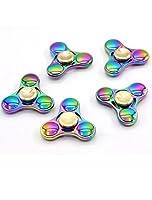 Hand Spinner Toy, Rainbow Metal High Speed Fidget Spinner