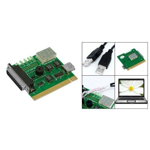 SODIALR Placa Madre USB & PCI Analizador Medidor Tarjeta