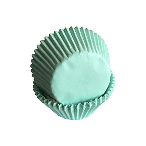 Tasty Cooky Shop Magdalenas verde menta 50x 33mm (50)