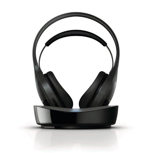 Philips SHD8600UG/10 Kabelloser HiFi-Over-Ear Kopfhörer (flexibler Bügel, rauschfrei) schwarz - 3