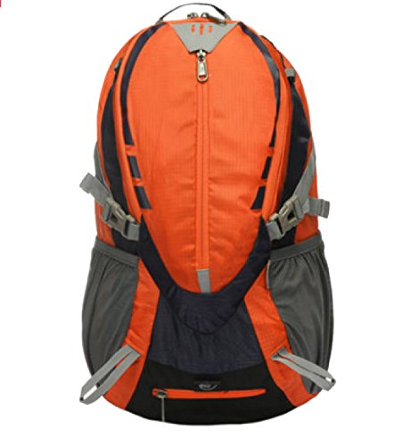 Xin Su Ultra-durevole Leggero Zaino Da Viaggio Escursioni Borse Giornaliere Ultra Leggero Viaggi All'aperto Campeggio Zaino Da Equitazione. Multicolore Orange