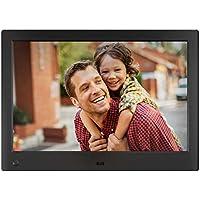 NIX Advance - Cadre numérique 10 Pouces écran Large pour Photos et vidéos HD (720p) avec capteur de Mouvement. Noir. X10H