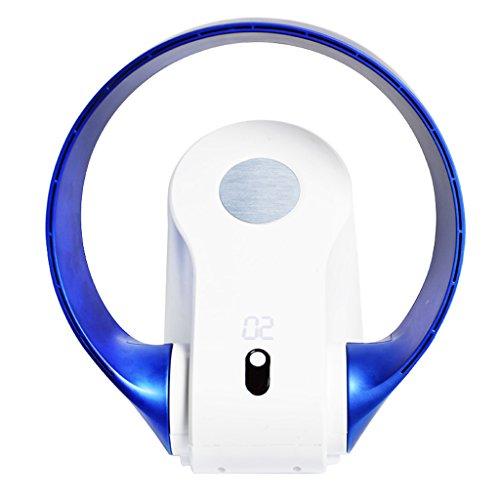 Kein Blatt Luftzirkulation Fan Boden Fan LED Stille Tischventilator kann ummauert werden
