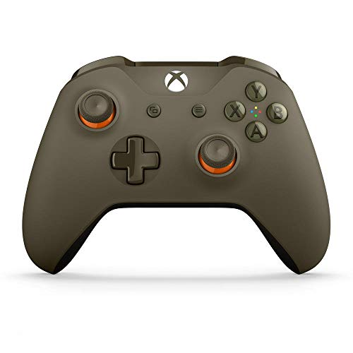 Foto Xbox One: Controller Wireless, Verde/Arancione - Limited