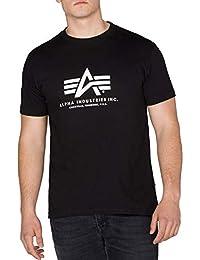 Alpha Industries Brand Logo Basic T-Shirt Freizeit Sport Militär T-Shirt f8fa5971e6