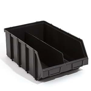 PATROL Group mod41dczapg0011x modulaire Plus caisses de tri Boîte Empilable, noir, 490x 310x 190mm