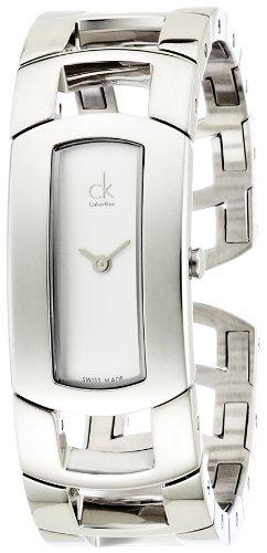 Calvin Klein Femme Montre Bracelet Quartz analogique en Acier Inoxydable k3y2s116