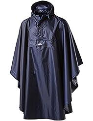 McKinley Niños Poncho De Lluvia Para lambaol juvenil color azul marino, navy dark, 140