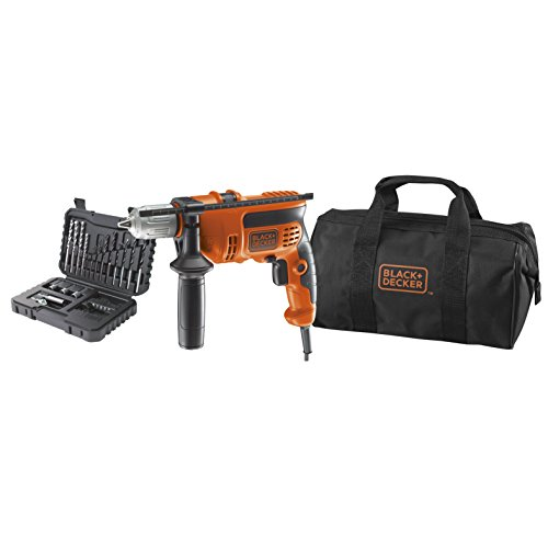 BLACK+DECKER KR714S32-QS Perceuse à percussion filaire - 20,5 Nm...