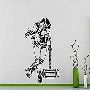 wandaufkleber 3d Wandaufkleber Schlafzimmer Comics Superhero Sticker Wohnaccessoires Jugendzimmer Coole Wohnaccessoires