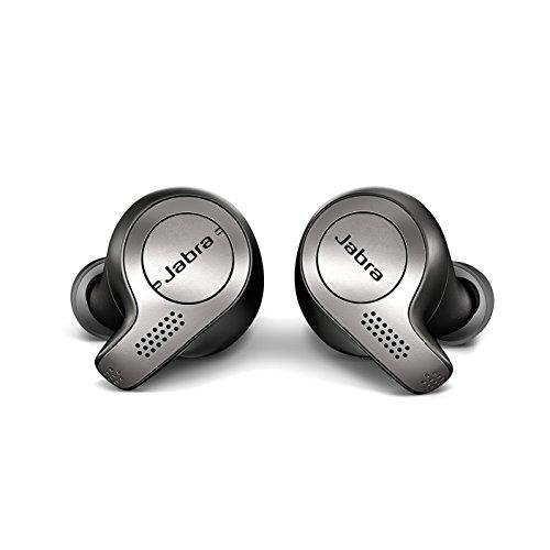 Jabra Elite 65t Bluetooth Kopfhörer (True Wireless, 5 Std., mit Mikrofon, geeignet für Handy, Smartphone, Tablet und PC) schwarz