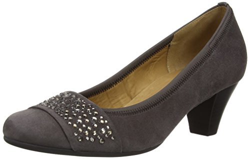 Gabor Wallace Damen Pumps Grau (Grey Suede)