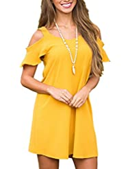 La Sra. correa verano vestidos primavera vestidos de mujer y terraza de verano las hombreras mullidas volantes ,S/EU36-YU&XIN