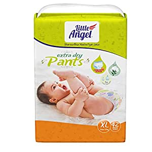 Little Angel Baby Diaper Pants, X-Large - 42 Count