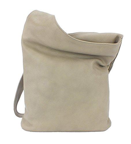 Eastline sac à main en cuir sac bandoulière dimensions :  env. 29 x 25 cm Beige - Beige