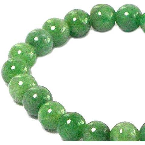 JADE-Braccialetto elasticizzato, JDBL0912151) - Emerald Jade Bracciale