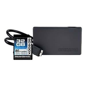 UHS-I de la carte mémoire Delkin SD 32Go 600x avec lecteur de cartes [ DDSD600 - 32R3 ]