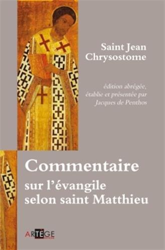 Commentaire sur l'évangile selon saint Matthieu par Jacques de Penthos