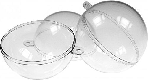 Acryl-Kugel Sparset transparent 5 Stück a 5cm, 5 Stück a 5cm