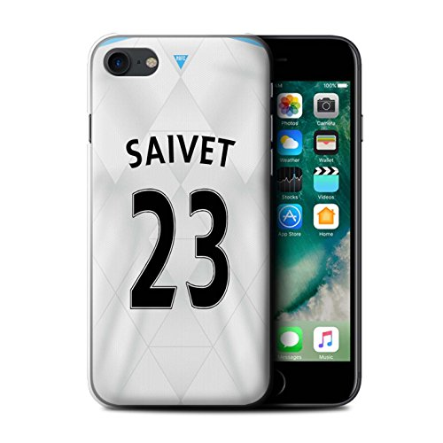 Offiziell Newcastle United FC Hülle / Case für Apple iPhone 7 / Doumbia Muster / NUFC Trikot Away 15/16 Kollektion Saivet
