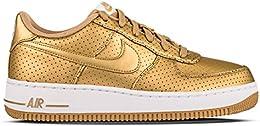 nike scarpe dorate