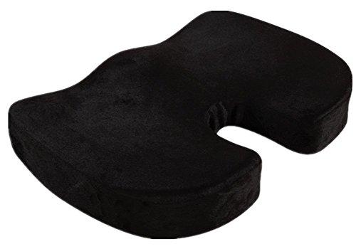 Confort Memory Foam Seat président Coussin Black