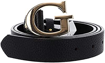 Guess Uptown Chic Adjustable Belt W85 Black - recortable