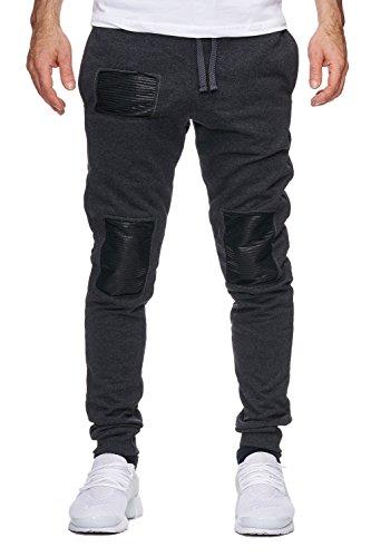 Violento -  Pantaloni sportivi  - Uomo Anthrazit