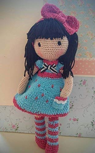 Muñeca Mariquilla a crochet. Amigurumis.