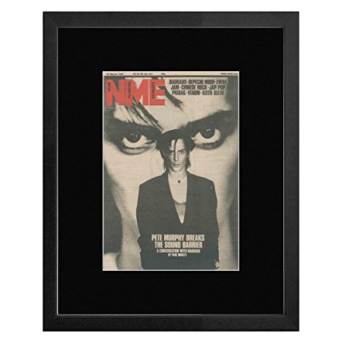 NME Mini-Poster Bauhaus Cover March 1982 with Pete Murphy - 53 x 43 cm Murphy Cover