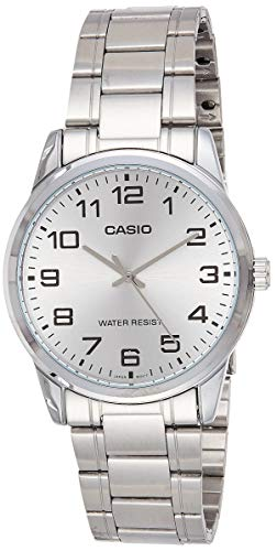 Casio Enticer Analog Silver Dial Men's Watch - MTP-V001D-7BUDF (A1082)