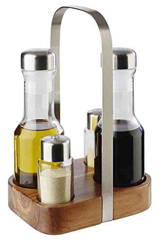 Menage (Pfeffer-, Salz-, Essig- und Öl-Menage