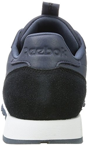 Reebok Herren Classic Leather It Sneaker Blau (Smoky Indigo/Black/White)
