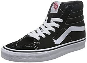 Vans Herren U SK8-HI High-Top Sneaker,Schwarz (Black), 42.5 EU