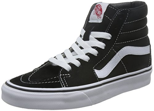 Vans Sk8Hi Sneakers Unisex Adulto Nero Black/White 49 EU