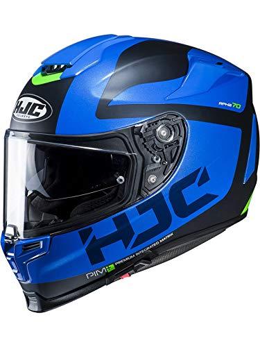 Hjc Blau Rpha 70 Balius Motorradhelm (Medium, Blau)
