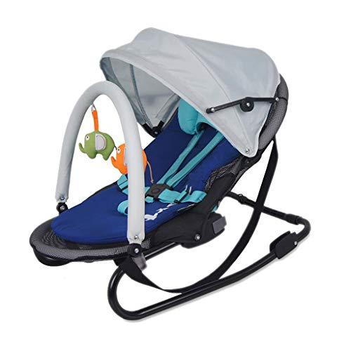 Shading Shake Chair Basket To Comfort Lying To Increase Swing Bed 3 Colors 80cm*48cm*62cm MUMUJIN (Color : Blue)  MUMUJIN