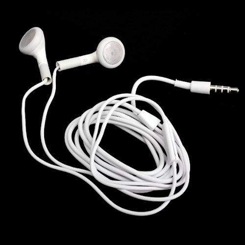 prettygood7 - Auricolari con Microfono per iPhone 4G 4S 3GS 3G Mp3 iPod Touch Nano, Isolamento Acustico, Impermeabili, Bassi potenziati