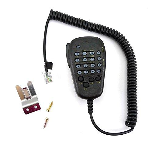 6 pin MH-48A6J Zeadio portatile spalla microfono con pulsante per Yaesu auto Radio Mobile FT-1500 (Yaesu Radio)
