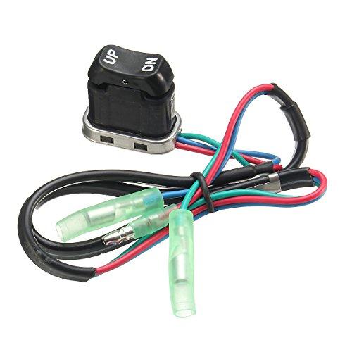Wooya Universal Outboard Remote Controller Trim & Tilt Assembly Switch for Yamaha Motor Tilt Remote