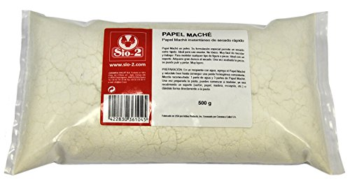 papel-mache-sio-2-en-polvo-de-secado-rapido-paquete-de-500-gr