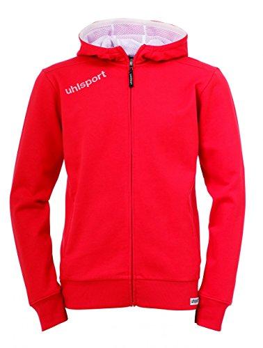 Uhlsport Veste à capuche Essential Rouge - Rouge