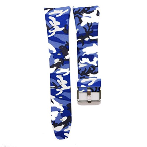 Preisvergleich Produktbild Sansee Bunte Mode Sport Silikon Samsung Gear Fit2 Armband Strap Band (C)